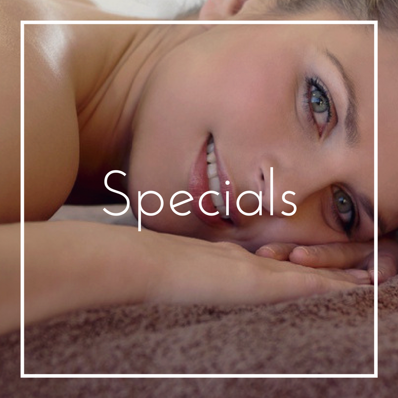 Precision Wellness Therapeutic Massage and Esthetics Specials Option
