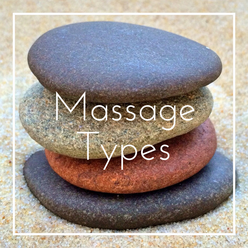 Precision Wellness Therapeutic Massage and Esthetics Massage Types