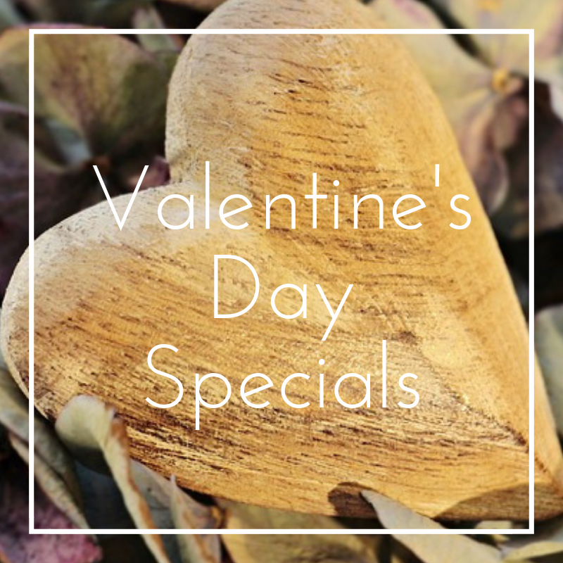 Precision Wellness Therapeutic Massage and Esthetics Valentine's Day Specials Button